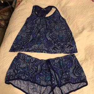 Paisley Pajama Set